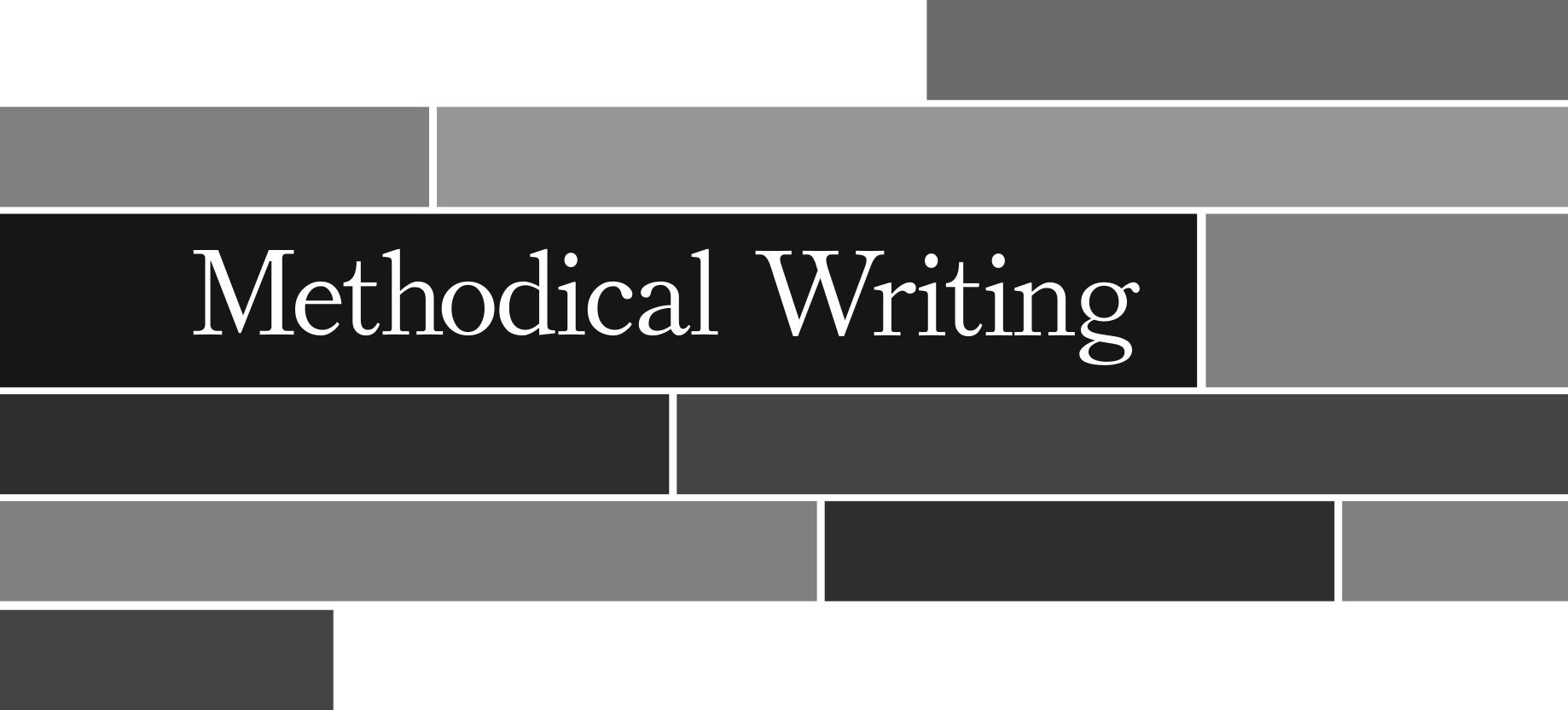 Methodical Writing Workshops